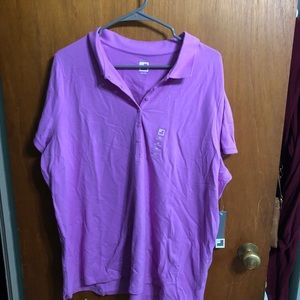 Orchid polo shirt